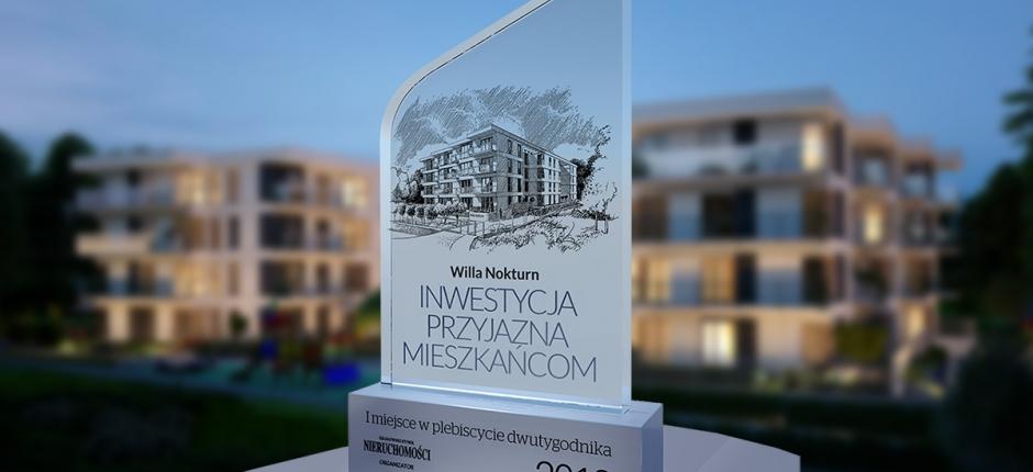 Willa Nokturn Inwestycją Przyjazną Mieszkańcom