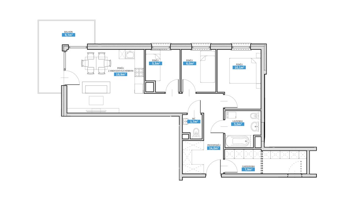 Mieszkanie 8