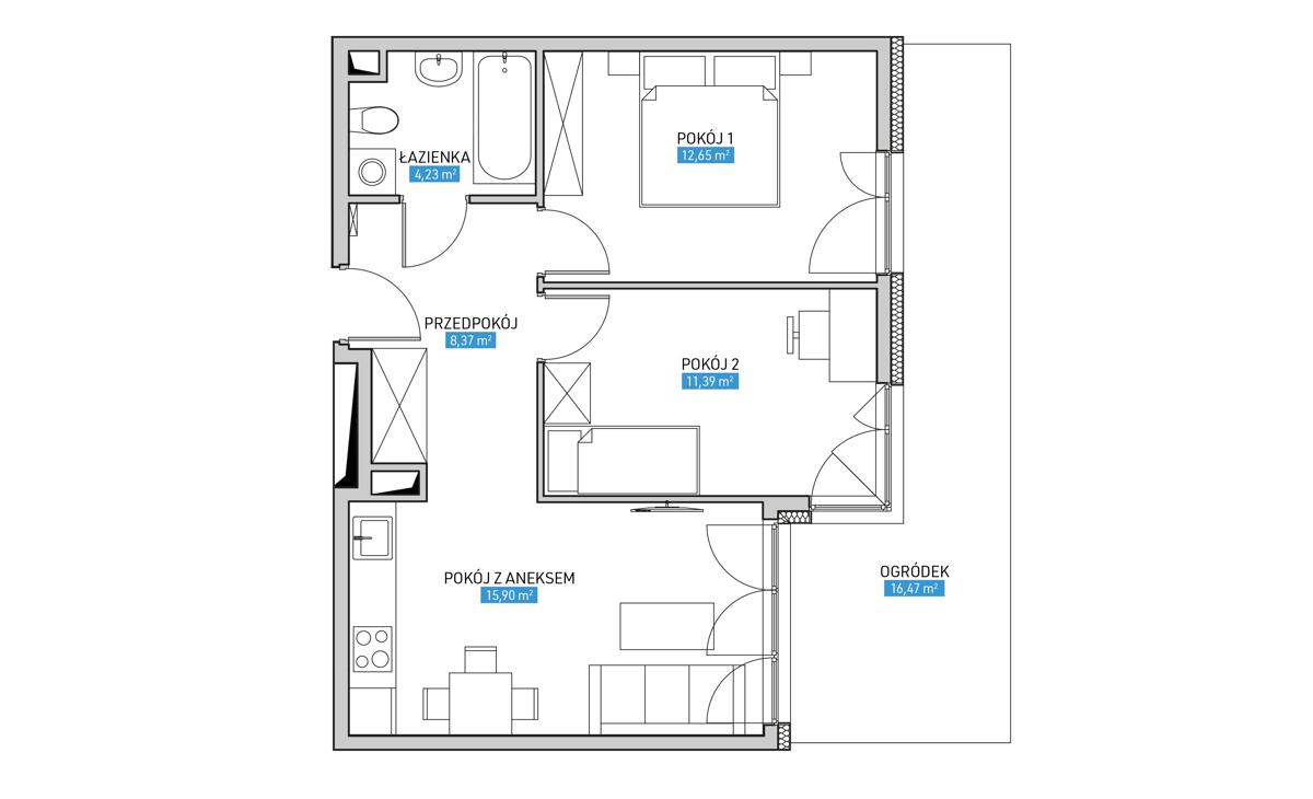 Mieszkanie 3A