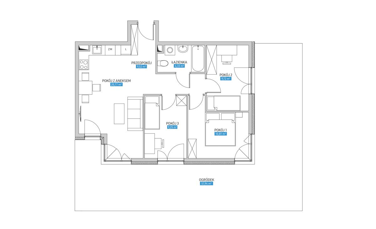 Mieszkanie 4A