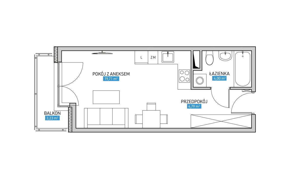 Mieszkanie 13A