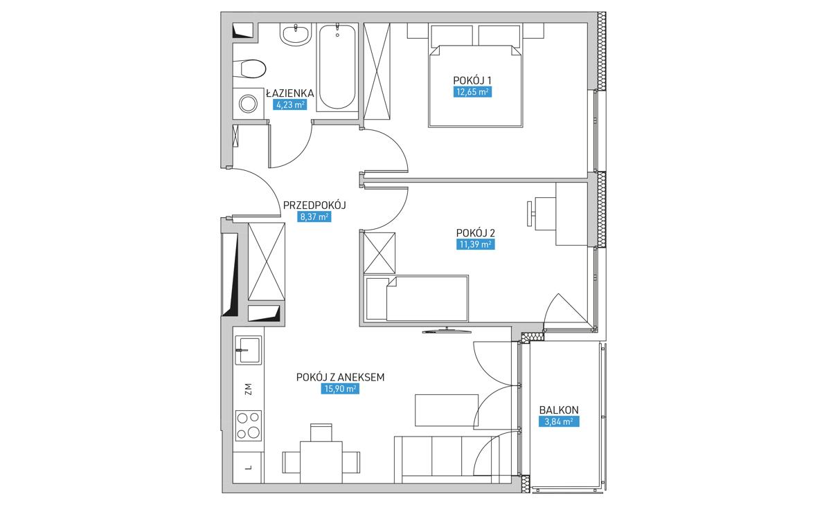 Mieszkanie 17A