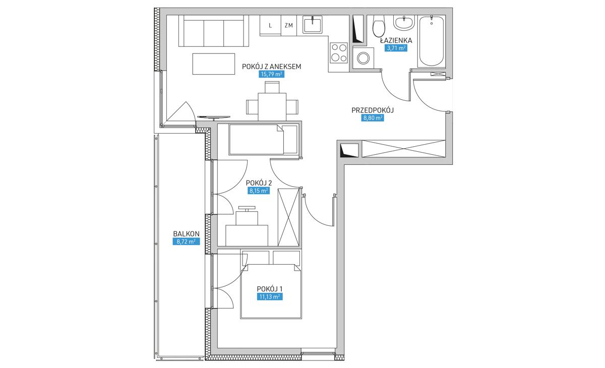 Mieszkanie 19A