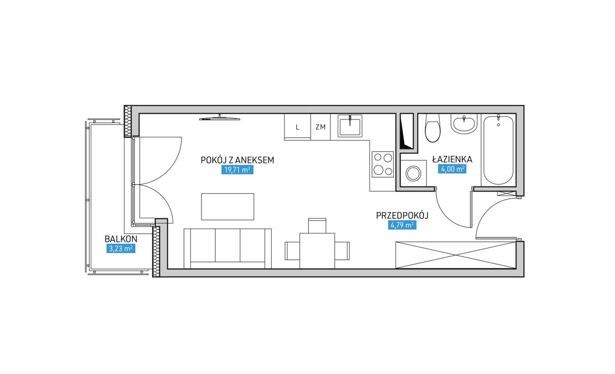 Mieszkanie 21A