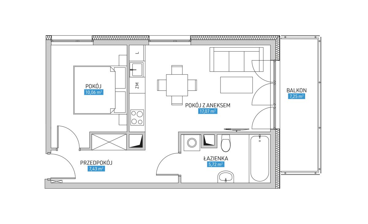 Mieszkanie 23A