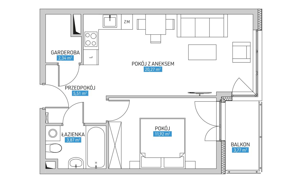 Mieszkanie 24A
