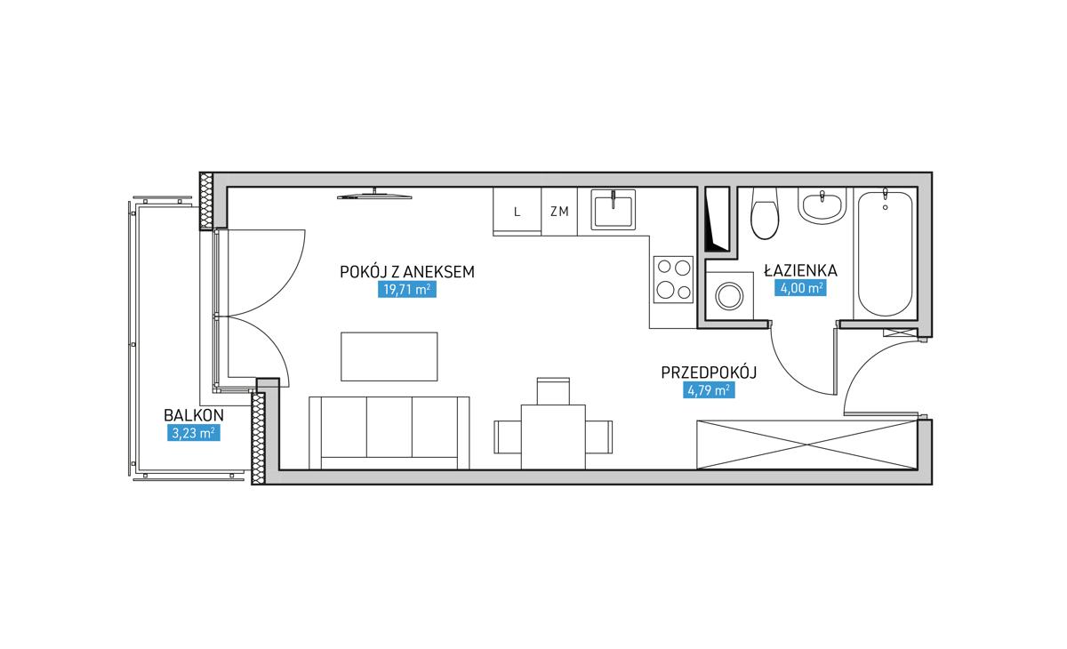 Mieszkanie 28A