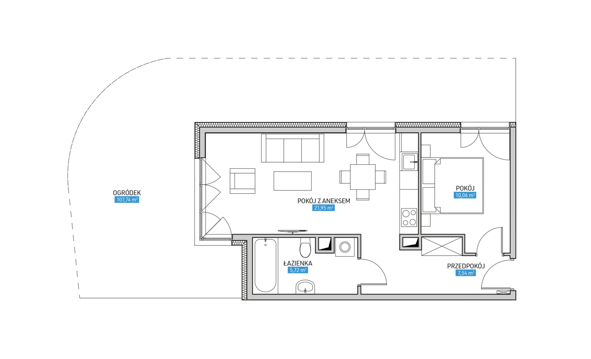 Mieszkanie 1B