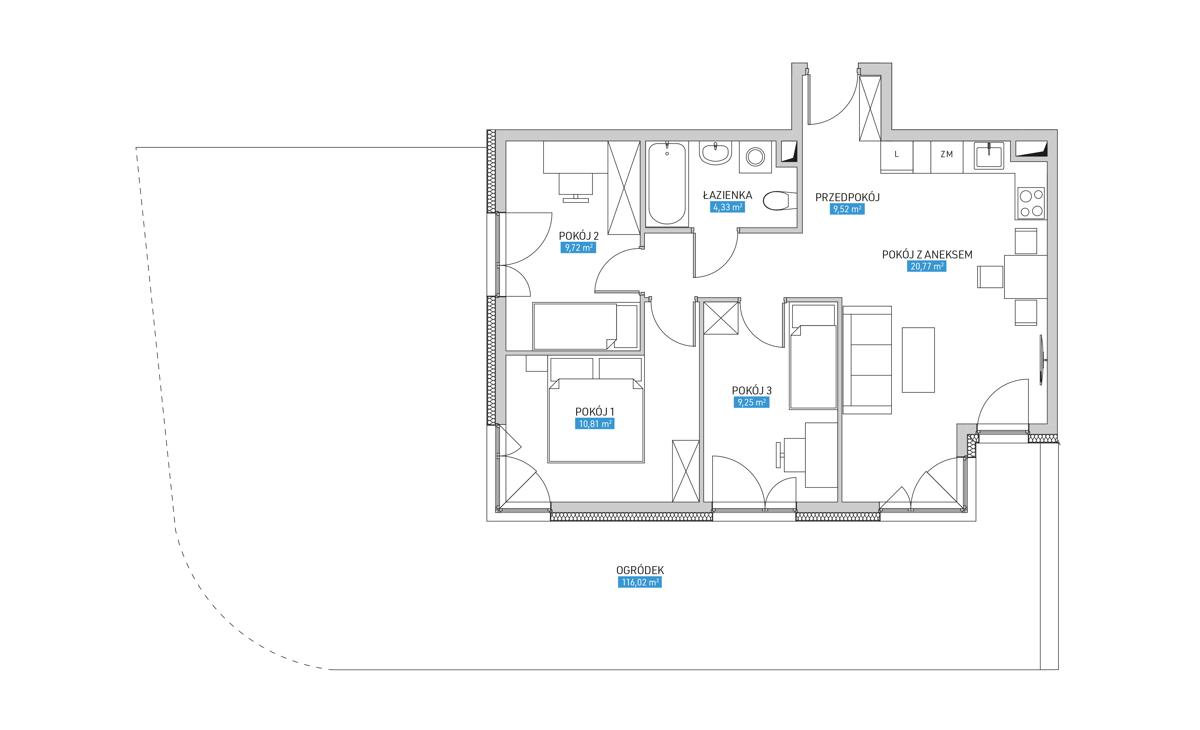 Mieszkanie 4B