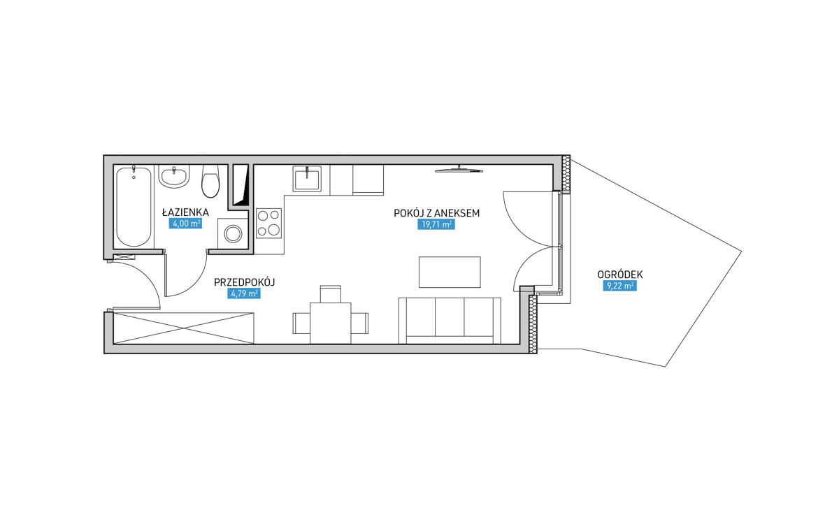 Mieszkanie 6B