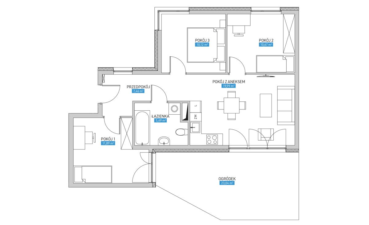 Mieszkanie 7B