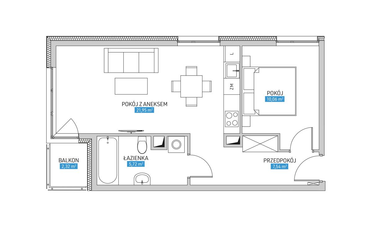 Mieszkanie 8B