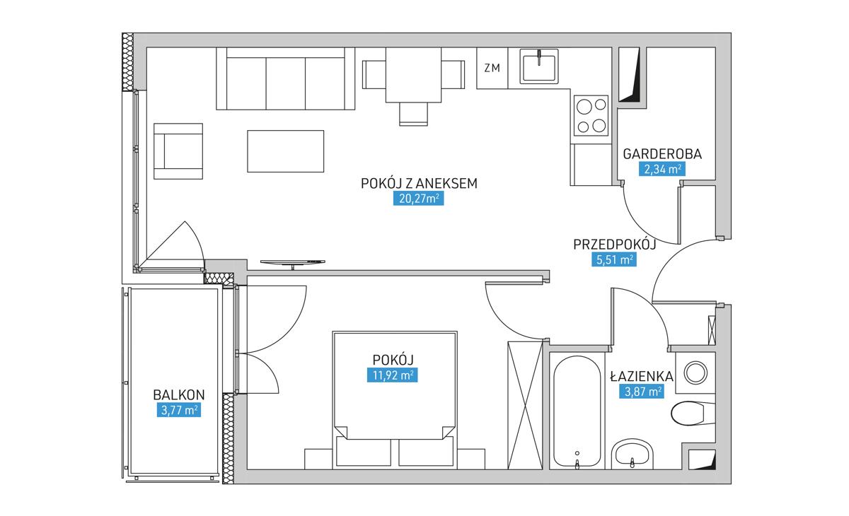 Mieszkanie 9B