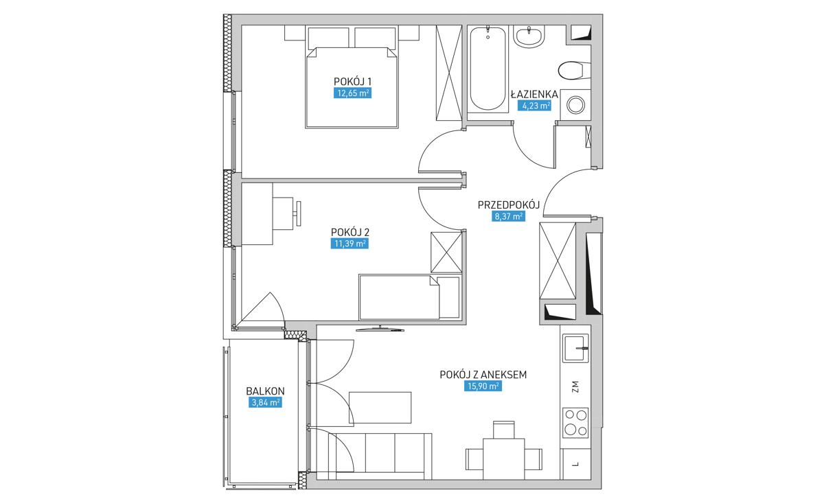 Mieszkanie 10B
