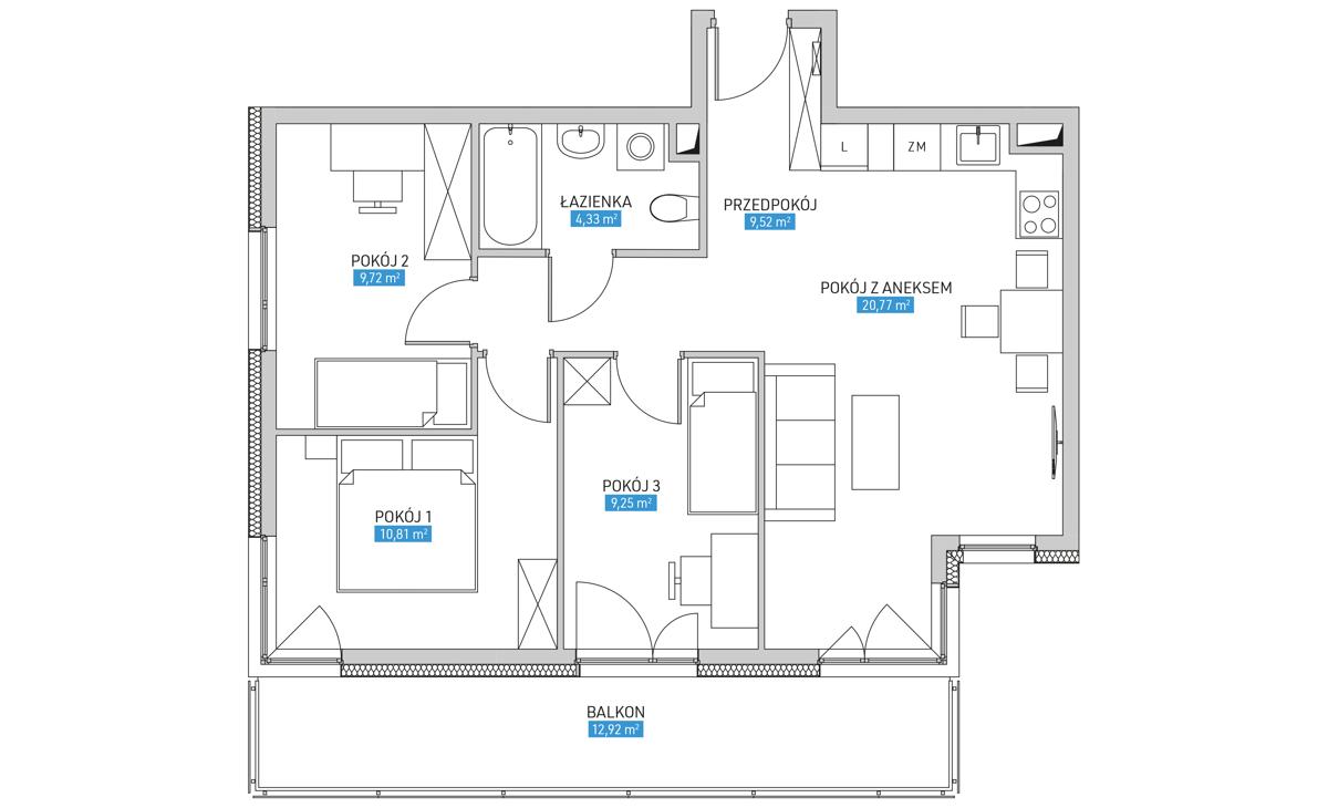 Mieszkanie 11B