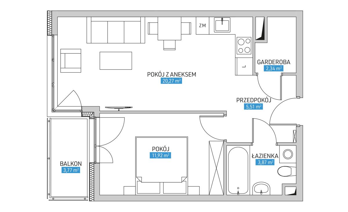 Mieszkanie 16B