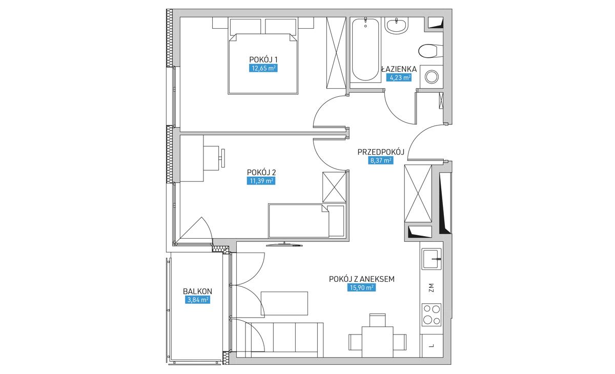 Mieszkanie 17B