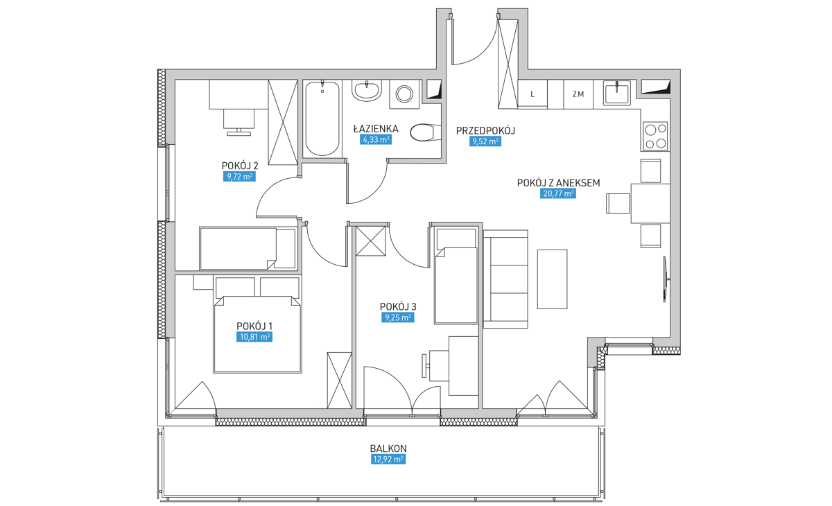 Mieszkanie 18B