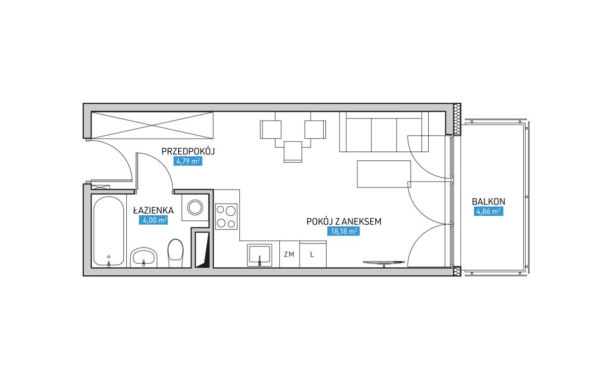 Mieszkanie 20B