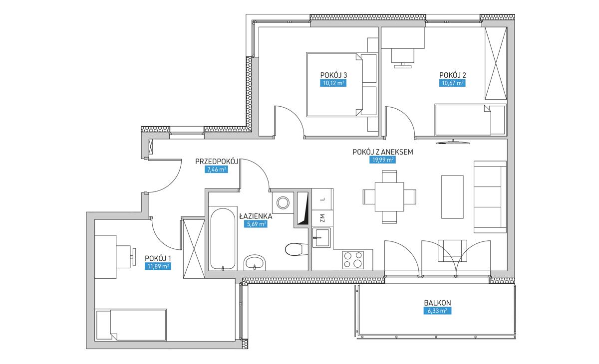 Mieszkanie 30B
